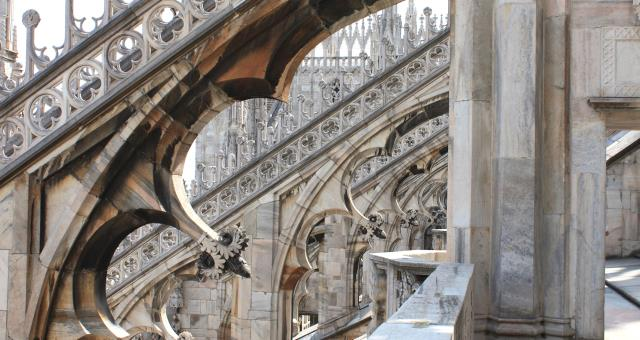 Visit the magnificent terraces of the Duomo Cathedral, with a two nights' stay, tickets will be included!