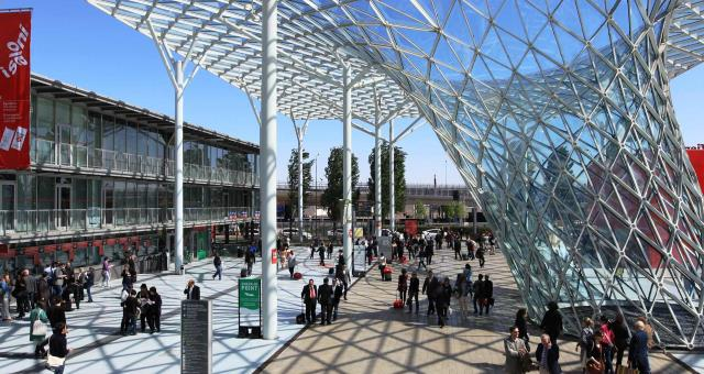 Two of Europe's largest trade fair centres are located in Milan